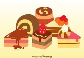 Assorted Cake Vectors