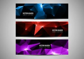 Free Vector Polygon Header