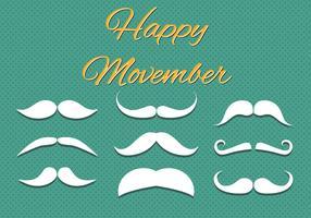 Free Happy Movember Vector