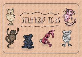 Free Hand Drawn Vector Toys