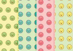 Vector Emoticons Patterns