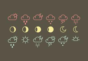 Vector Weather Icon Vectors