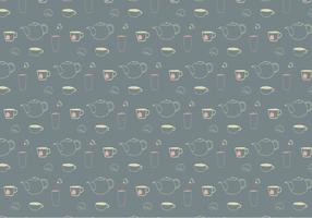 Teatime Pattern Background