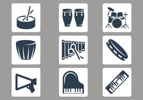Free Musical Instruments Vector