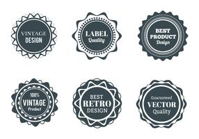 Free Vector Wappen, Labels And Badges set