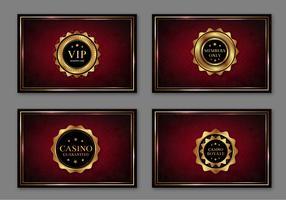 Casino Royal Pass Cards Free Vector