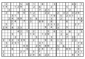 Free Sudoku Vector