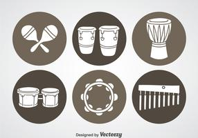 Percussion Instrument Icons