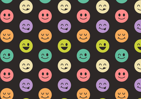 Free Smiley Face Pattern Vector