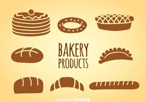 Bakery Products Vector Sets