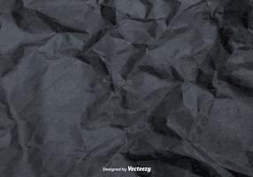 Vector Gray Crumpled Paper Texture