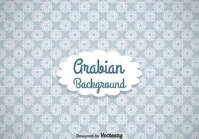 Arabian White Line Ornament Background