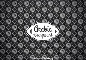 Arabic White Ornament Background