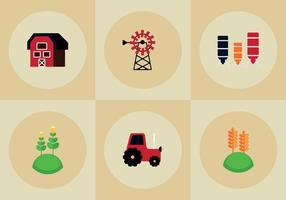 Free Farm Elements Vectors