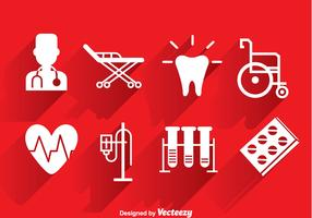 Medical White Icons