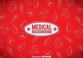 Medical Red Background