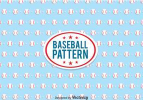 Baseball Pattern Vector