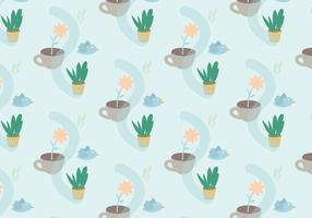 Plants Pastel Pattern
