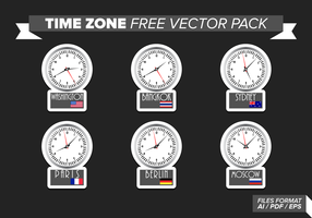 Time Zone Free Vector Pack