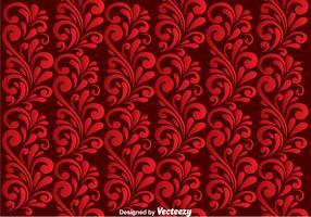 Red Swirly Background