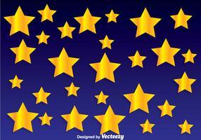 Golden Star Background