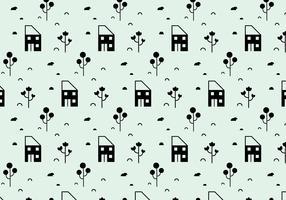 Landscape Icons Pattern