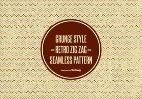 Grunge Style Zig Zag Pattern