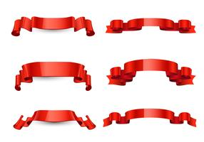 Free Red Ribbon Vector