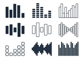 Sound Bars Minimalist Icon