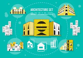 Free Architecture Vector Background
