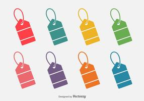 Colourful Price Tag Flat Icon