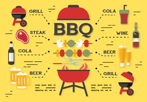 Free Barbecue Elements Vector Background