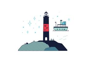 Free Lighthouse Vector