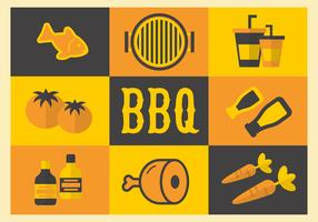 Free Barbecue Elements Vector