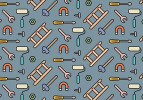 Tools Icons Pattern Vector
