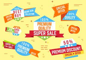 Free Super Sale Banner Vector