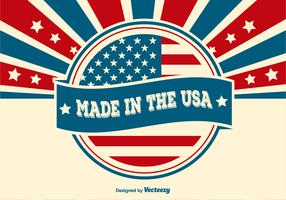 Made in the USA Illustration