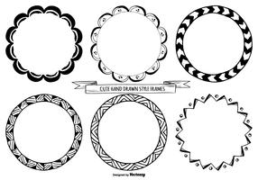 Cute Hand Drawn Style Frames