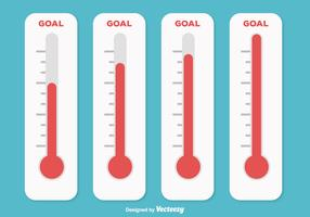 Goal Thermometer Illustration