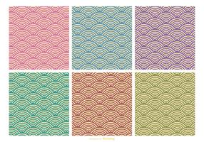 Retro Pattern Vector Set