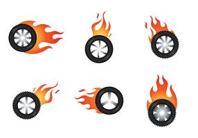 Free Burnout Vector Illustration