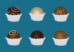Free Truffles Vector Illustration