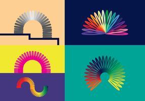 Free Slinky Vectors