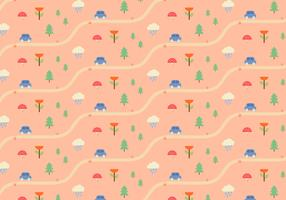 Nature Landscape Pattern