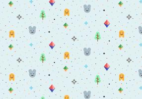 Playful Vector Pattern