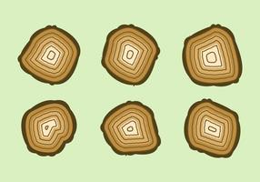 Free Tree Rings Vector Illustration #5