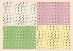 Retro Polka Dot Pattern Set