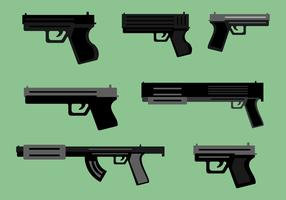 Free Guns Vector Pack