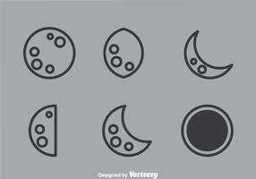 Lunar Outline Icons