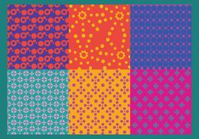 Colorful Dot Pattern Vectors